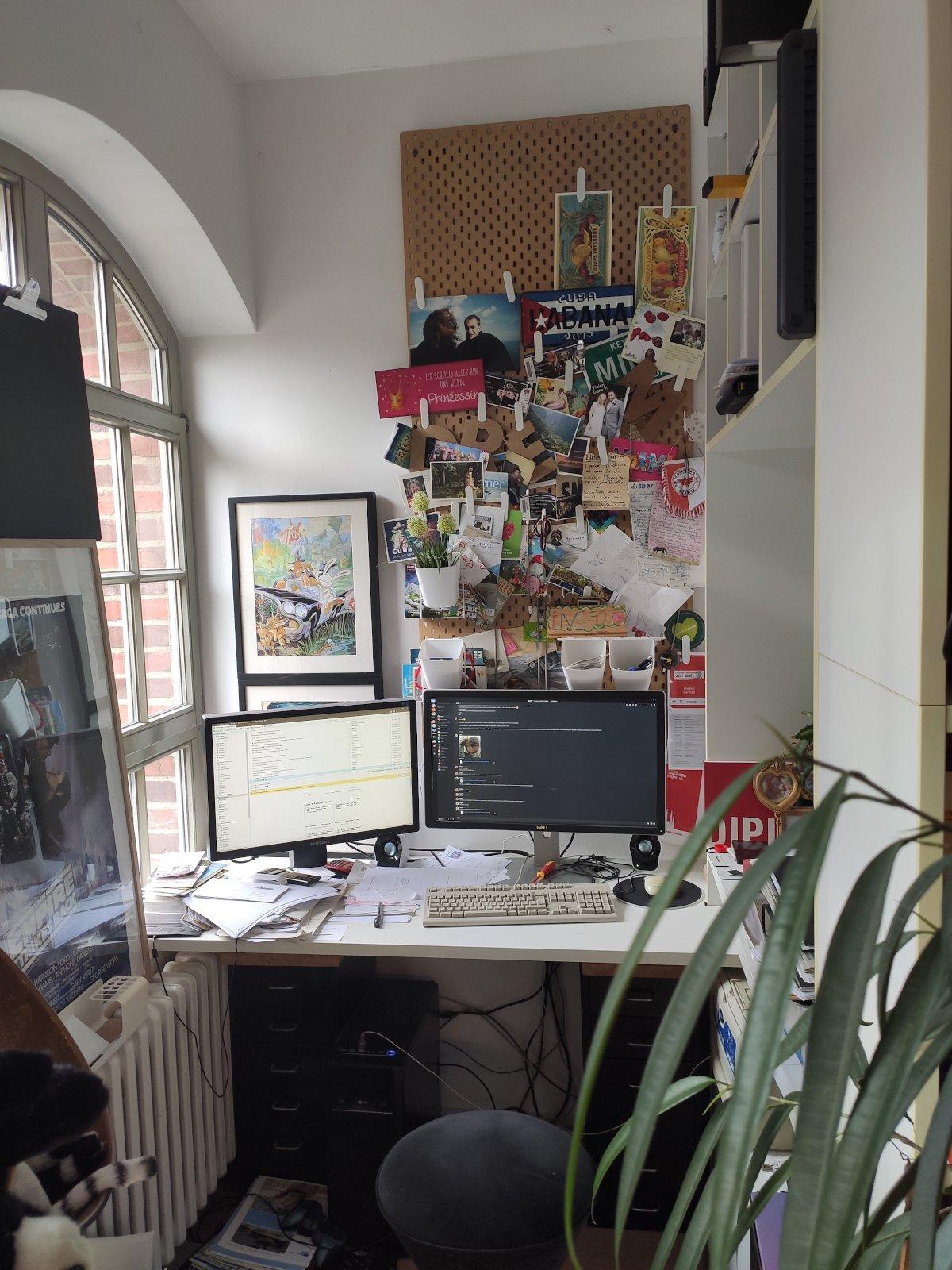 Mein Büro. (Bild: Ingo Stuckenbrock)