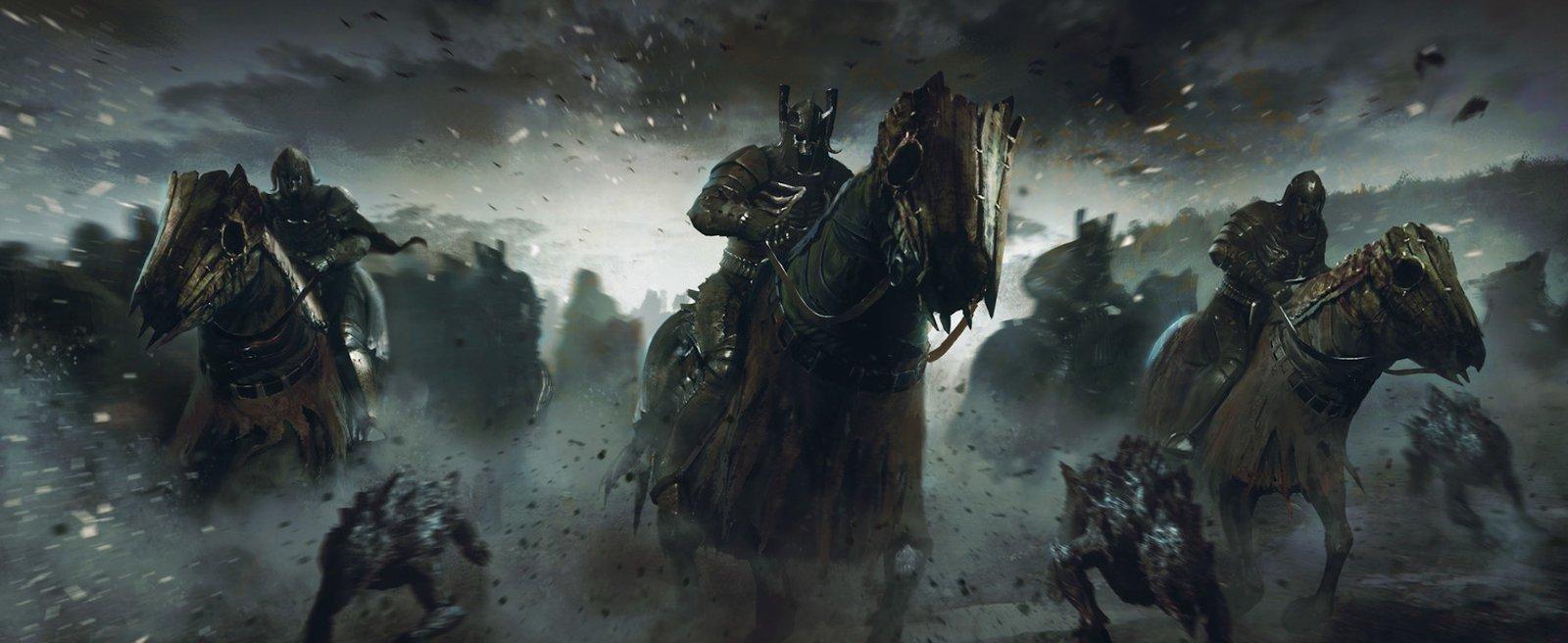 """Die Wilde Jagd, wie im Computerspiel """"The Witcher"""" dargestellt. (Bild: CD Project Red)"""