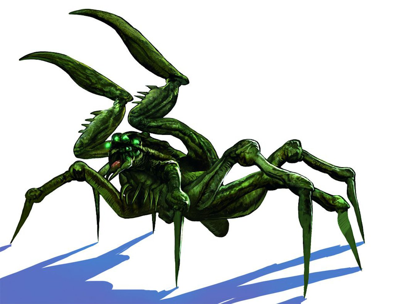 Grimmig: Konzeptzeichnung des Koschtschei aus The Witcher 1. (Bild: hexer.wikia.com)