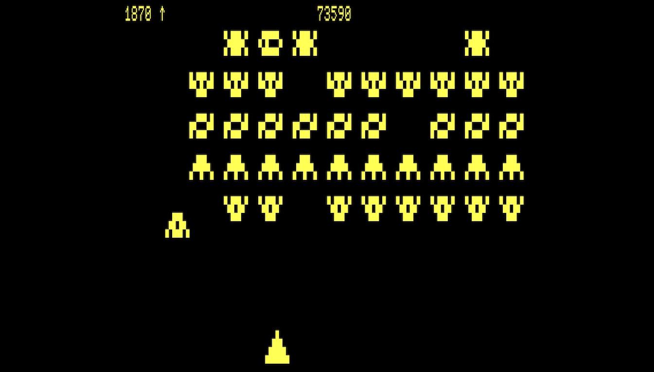 Gameplay von Galaxy Invasion, Nele Abels, CC BY-SA 4.0