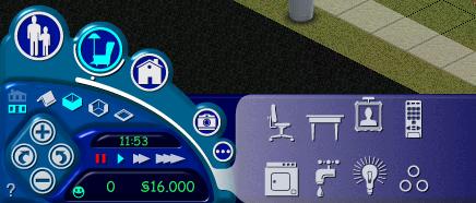 Das User Interface im Spiel. (Bild: Sarah Bee)