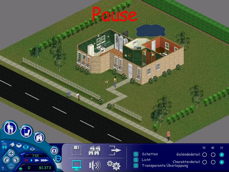 Die Grafik in Die Sims 1. (Bild: Sarah Bee)
