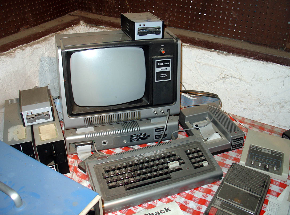 Ein ausgebautes TRS-80 System, Digibarn Computermuseum, CC BY-NC-SA
