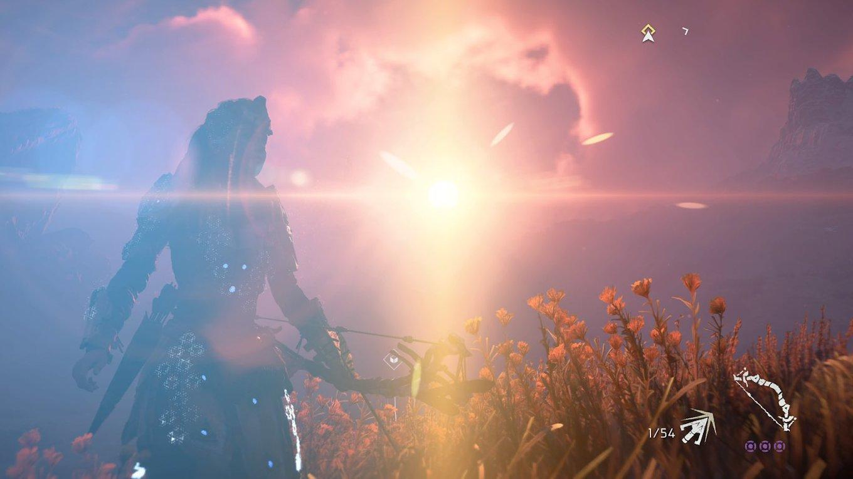 Kitschige Sonnenuntergänge in Horizon Zero Dawn (Screenshot: Lenny)