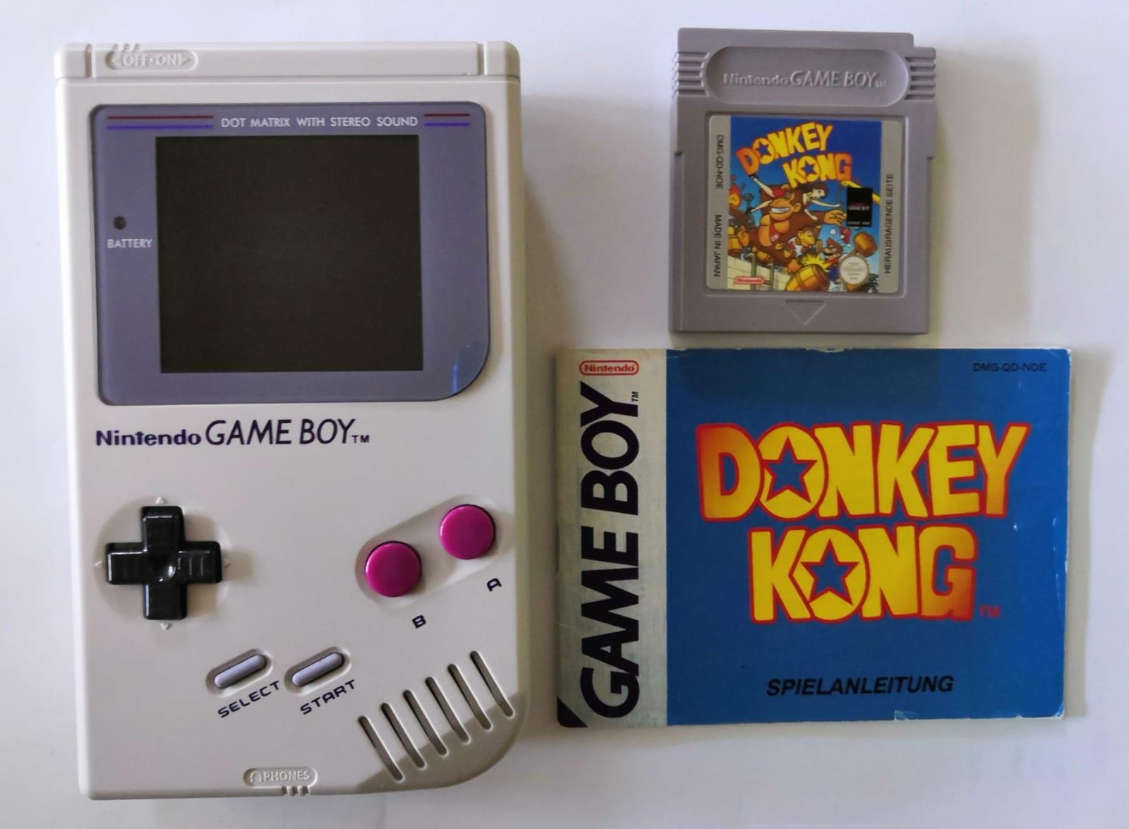 Der Game Boy erschien 1989 und 1994 kam Donkey Kong. (Bild: Christian Rohde)