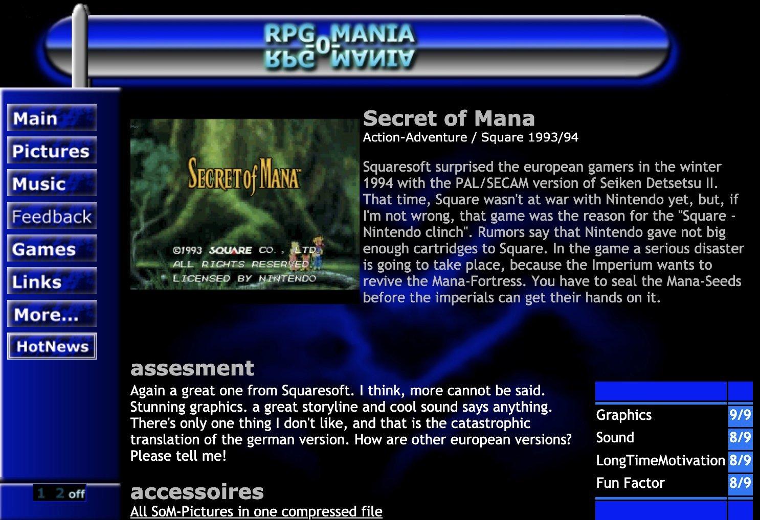 RPG-O-Mania, ca. April 1999. (Bild: Florian Auer)