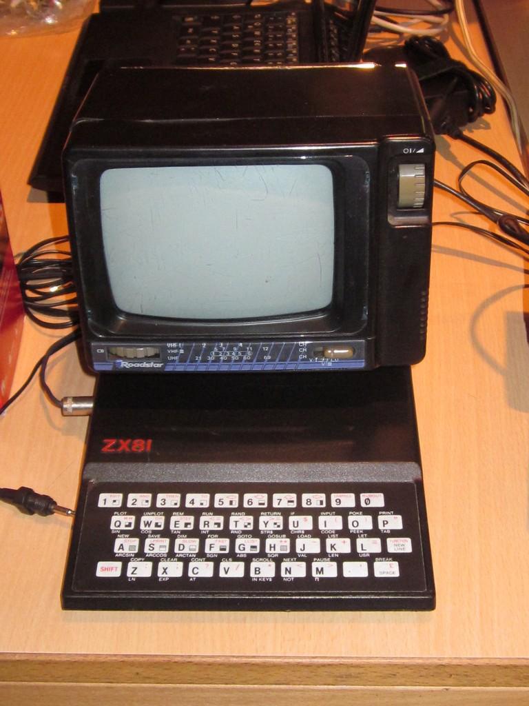ZX81 meets Roadstar - Auch Sinclairs Kleinster findet hier seinen Platz. (Bild: Daniel Rene Steinbiss)